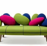 Итальянская мягкая мебель ADRENALINA диван Jelly