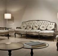 Итальянская мебель ANGELO CAPELLINI гостиная бренд MEDIATERRANEO