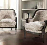 Итальянская мебель ANGELO CAPELLINI кресла бренд MEDIATERRANEO