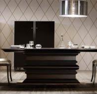 Итальянская мебель ANGELO CAPELLINI бренд OPERA столовая EDGAR