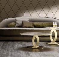 Итальянская мебель ANGELO CAPELLINI бренд OPERA диван LICILLE