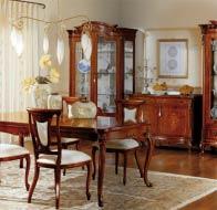 Итальянская мебель Antonelli Moravio классическая столовая Isabella