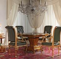 Итальянская мебель Antonelli Moravio классическая столовая Napoleone