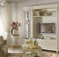 Итальянская мебель Antonelli Moravio классическая гостиная Pitti