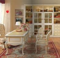 Итальянская мебель Antonelli Moravio классический кабинет Isabella