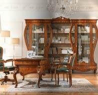 Итальянская мебель Antonelli Moravio классический кабинет Napoleone