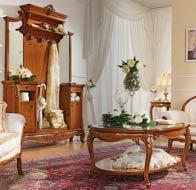 Итальянская мебель Antonelli Moravio классическая прихожая Isabella
