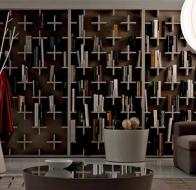 Итальянская мебель Arcetipo книжный шкаф Target
