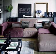 Итальянская мягкая мебель ARKETIPO диван Inkas