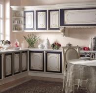 Итальянская мебель Asnaghi Interiors классическая кухня Exelsa