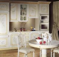 Итальянская мебель Asnaghi Interiors классическая кухня Valery