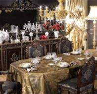 Итальянская мебель Asnaghi Interiors классическая коллекция Luxury столовая Kandinsky