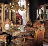 Итальянская мебель Asnaghi Interiors классическая коллекция Luxury столовая Tintoretto