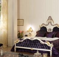 Итальянская спальня Asnaghi Interiors классическая коллекция Star кровать Azha