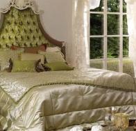 Итальянская спальня Asnaghi Interiors классическая коллекция Star кровать Mira
