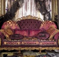 Итальянская мягкая мебель Asnaghi Interiors классичеcкая коллекция Luxury диван Dali