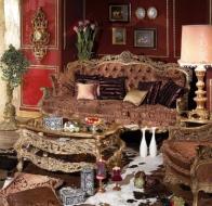Итальянская мягкая мебель Asnaghi Interiors классическая коллекция Manzoni диван Catullo