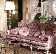 Итальянская мягкая мебель Asnaghi Interiors классическая коллекция Manzoni диван Goethe