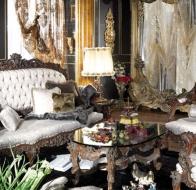 Итальянская мягкая мебель Asnaghi Interiorsклассическая коллекция Manzoni диван Joyce