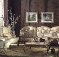 Итальянская мягкая мебель Asnaghi Interiors классическая коллекция Prestige диван Barocco