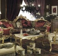Итальянская мягкая мебель Asnaghi Interiors классическая коллекция Prestige диван Belmoon