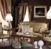 Итальянская мягкая мебель Asnaghi Interiors классическая коллекция Prestige диван Jocelyn