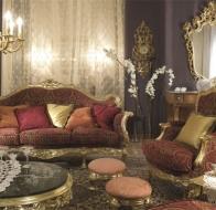 Итальянская мягкая мебель Asnaghi Interiors классическая коллекция Prestige диван Lamberto
