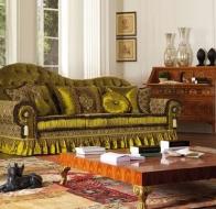Итальянская мягкая мебель Asnaghi Interiors классическая коллекция Star диван Aldebaran