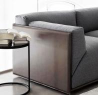 Диван BACON от итальянского бренда мягкой мебели Meridiani