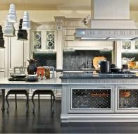 Итальянская мебель Bamax классичекая коллекция Venezia кухня