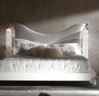 Итальянская мебель Bastex  кровать коллекции White Titania