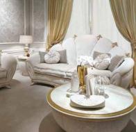 Итальянская мебель Bastex  диван в классическом стиле Perla