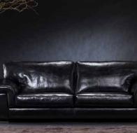 Итальянская мебель Bastex  кожаный диван Etoile
