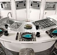 Итальянские кухни BRUMMEL CUCINE современная коллекция Diamond