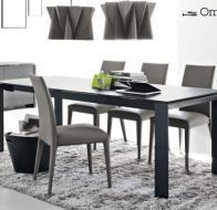 Итальянская мебель Calligaris современный стол Omnia стулья Anais