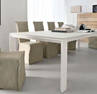 Итальянская мебель Calligaris современный стол Omnia XXL стулья Latina housse