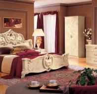Итальянская спальня Camelgroup классическая коллекция Gold кровать Barocco