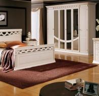 Итальянская спальня Camelgroup классическая коллекция Platinum кровать Firenze