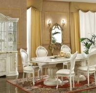 Итальянская столовая Camelgroup классическая коллекция Gold гарнитур Leonardoo