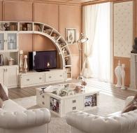 Итальянская гостиная Caroti мебельный гарнитур Demi Arkata