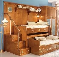 Итальянская мебель для детской Caroti в морском стиле