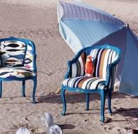 Итальянская мягкая мебель CREAZIONI кресло NINA