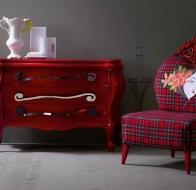 Итальянская мягкая мебель CREAZIONI кресло TIZZU
