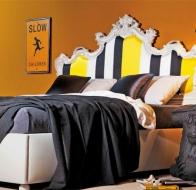 Итальянская мебель для спальни CREAZIONI кровать VALENTINO