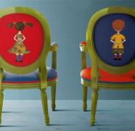 Итальянская детская мебель CREAZIONI кресло MINI