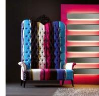Итальянская мягкая мебель CREAZIONI кресло MEGATIZZI