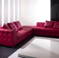 Итальянская мягкая мебель Domingo Salotti современный диван Blaine
