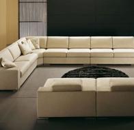 Итальянская мягкая мебель Domingo Salotti современный диван Mallorca