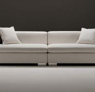 Итальянская мягкая мебель Domingo Salotti современный диван Twister