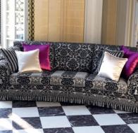 Итальянская мягкая мебель Domingo Salotti классический диван Alonso